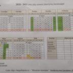 укытучы календаре
